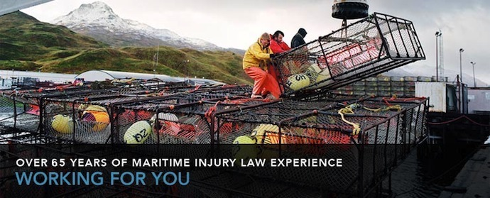 Contact Us - Over 65 Years of Maritme Injury Law Experinence